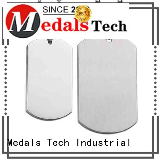 Medals Tech shinny unique dog tags for dogs customized for add on sale