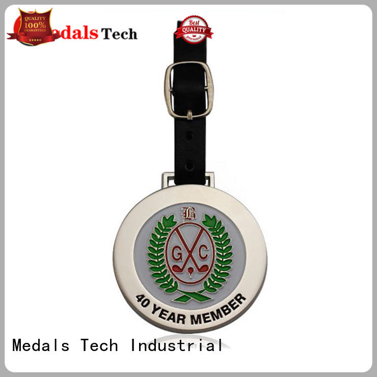 Medals Tech price golf bag name tags customized for man