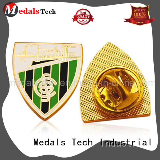 Medals Tech shinny cool lapel pins factory for man