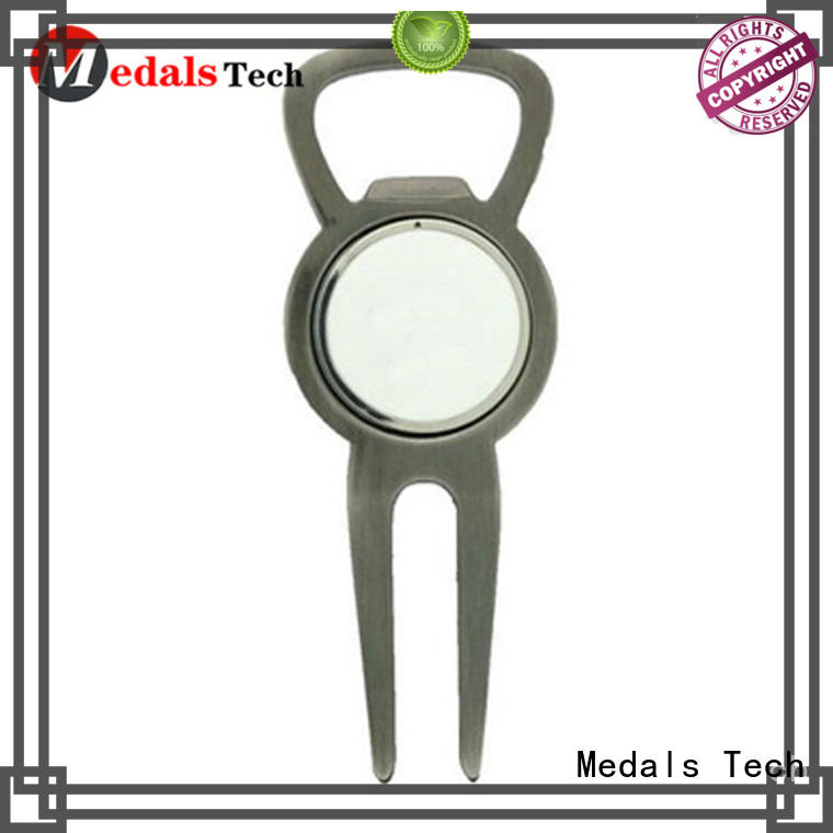 Medals Tech shinny golf ball divot tool for woman
