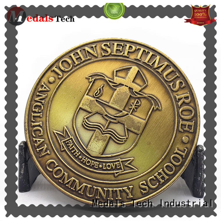 Medals Tech quality presidential challenge coin personalized for add on sale