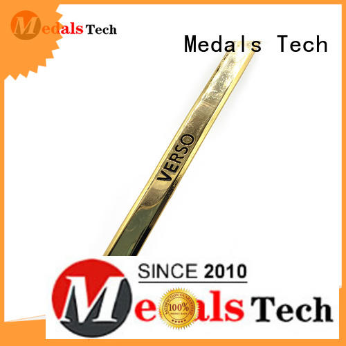 Medals Tech label silver name plate factory for woman
