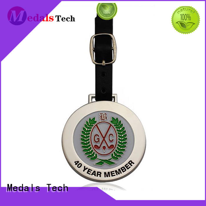 shinny custom golf bag tags zinc manufacturer for add on sale