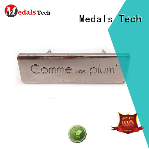 Medals Tech cost-effective decorative name plate with good price for man
