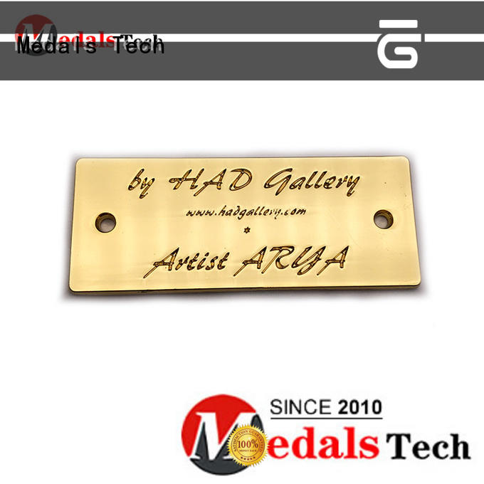 Medals Tech cost-effective silver name plate design for man