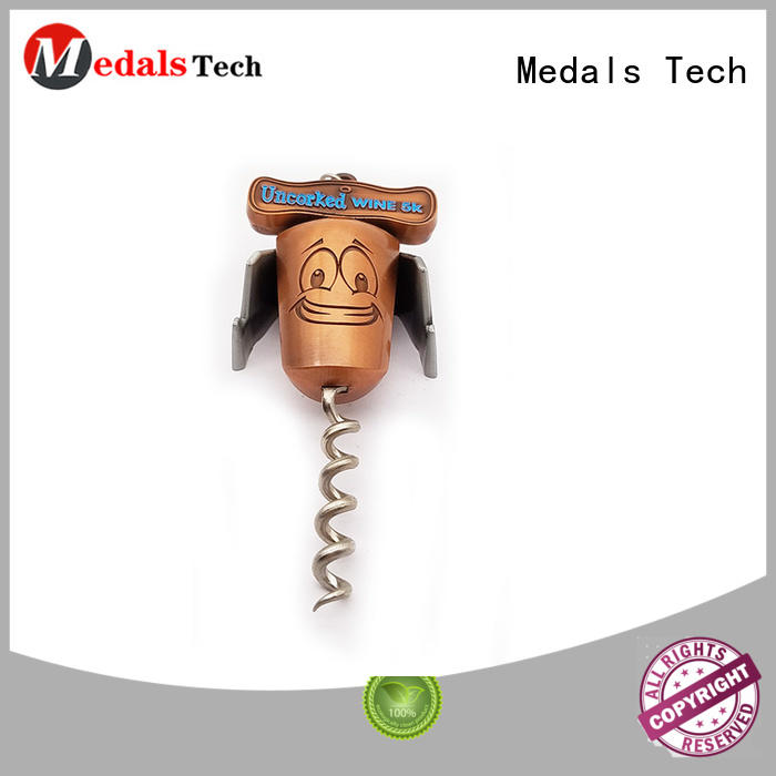 Medals Tech die casting wall mount bottle opener customized for souvenir