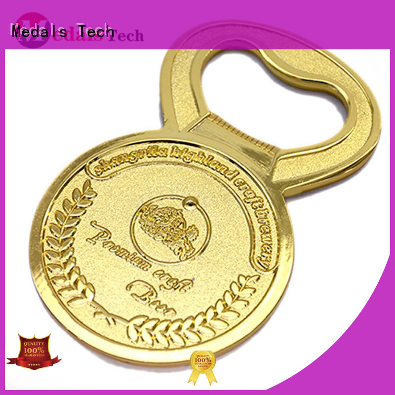 Medals Tech beer bottle opener customized for souvenir