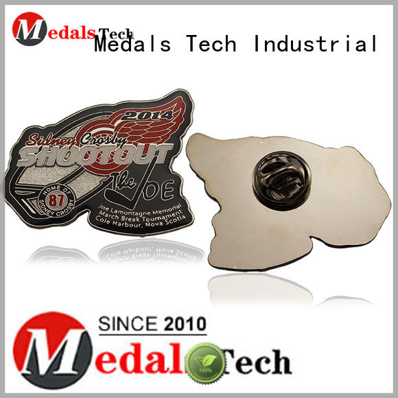 Medals Tech customized custom lapel pins cheap design for woman