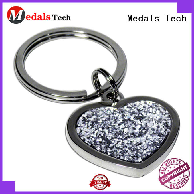 Medals Tech shoe leather keychain series for souvenir