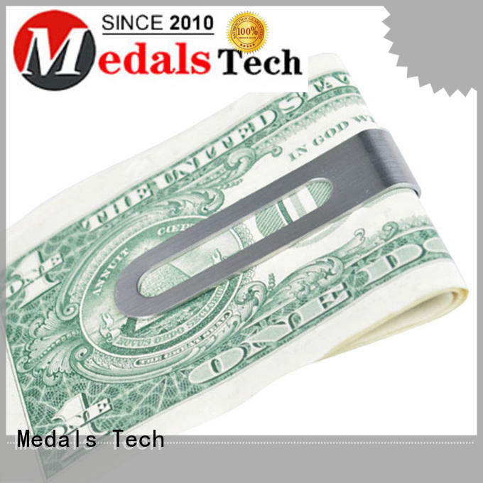 plating large money clip soft with good price for add on sale