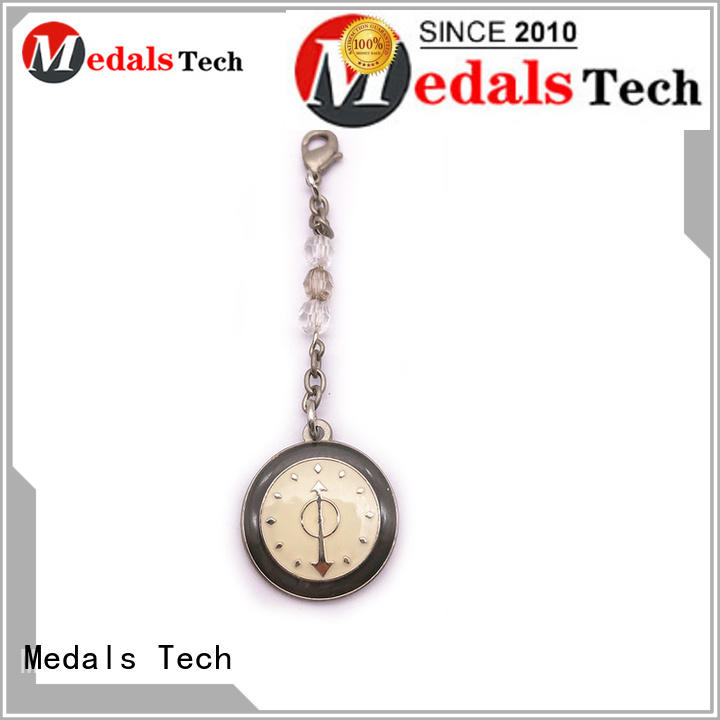 Medals Tech creative metal key ring customized for souvenir