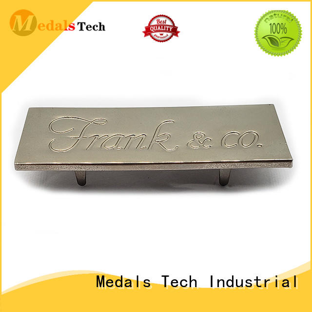 Medals Tech printed decorative name plate factory for kids