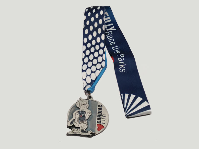 Medals Tech running custom running medals factory price for add on sale