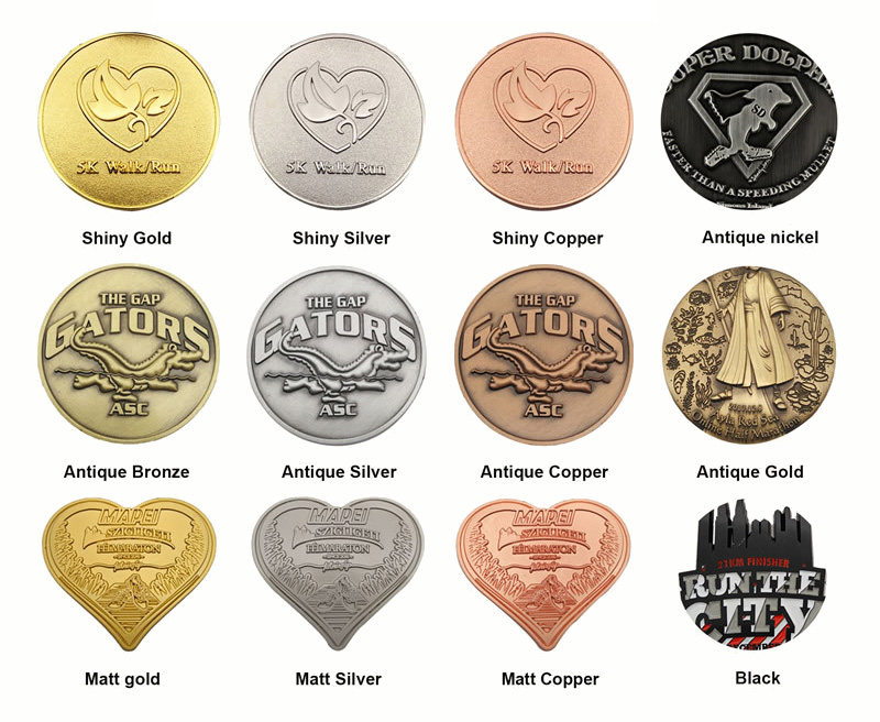 round custom made medals personalized for adults-7