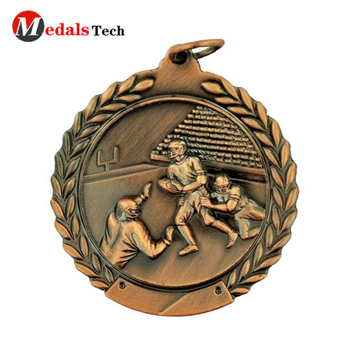 Custom medal maker cheap antique 3d sports medal for sell