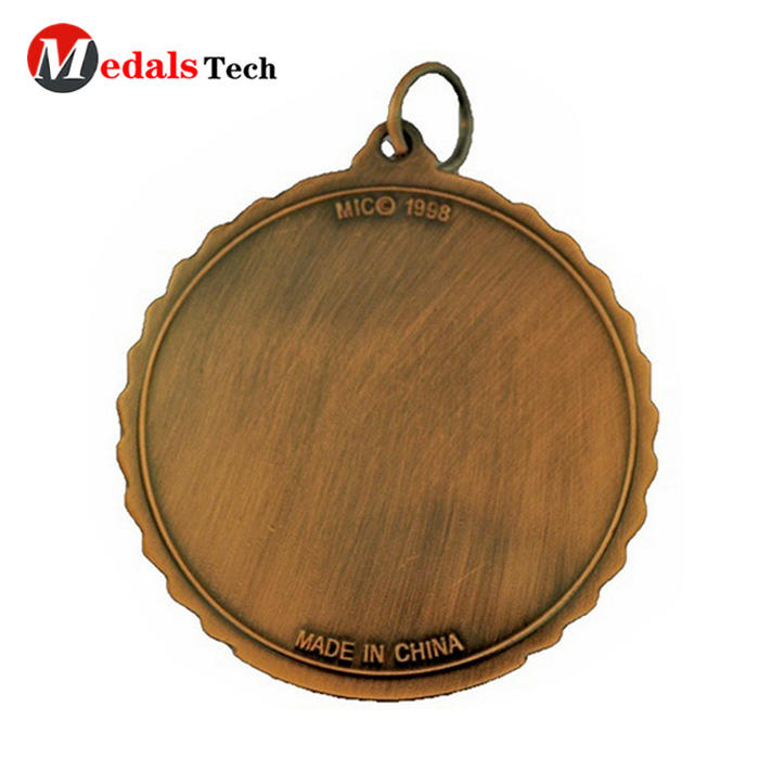 Top sell die casting wholesale custom antique copper military medal