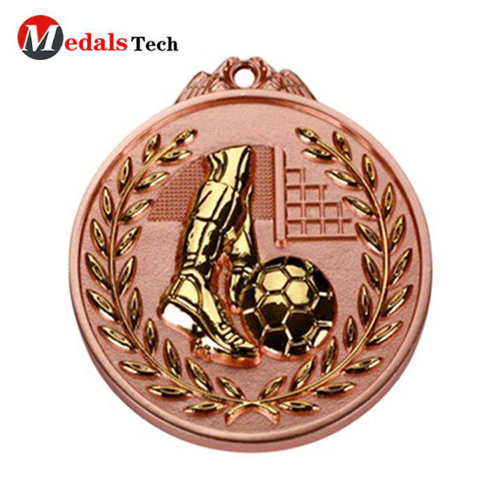 Custom fashion colorful oem polish antique gold masonic metal medal with custom hole