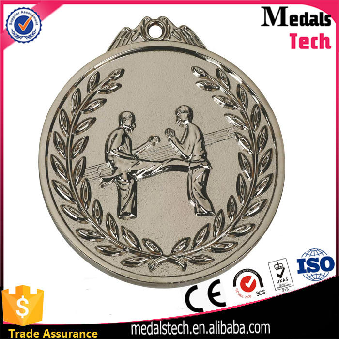 Professional manufacturer bespoken antique gold 3d logo engraving medals