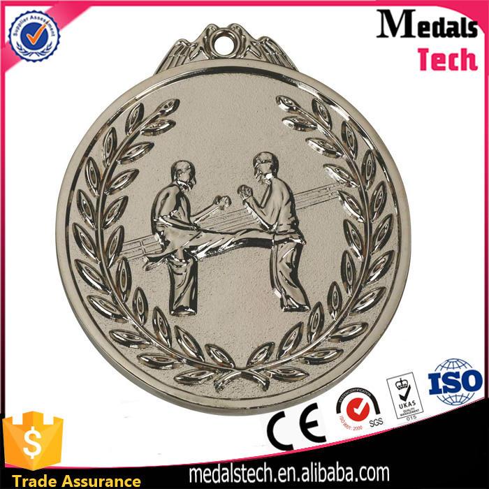 Professional manufacturer bespoken antique gold 3d logo engraving medals