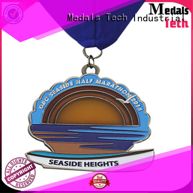 Medals Tech coast custom race medals supplier for adults