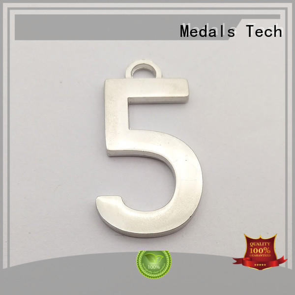 Medals Tech top quality steel name plates with good price for kids