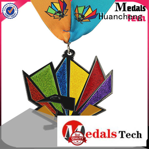 different types of medals matte marathon ribbon metal medal manufacture