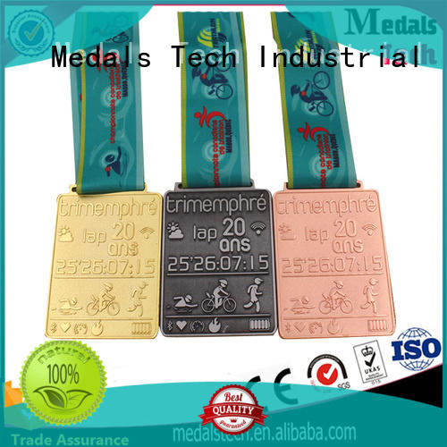 die casting metal medal double factory price for adults
