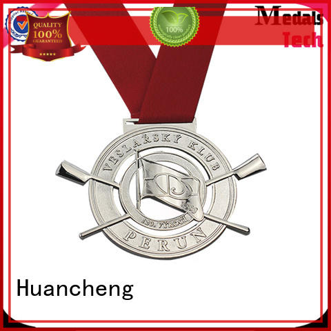 different types of medals ribbon sport Huancheng Brand