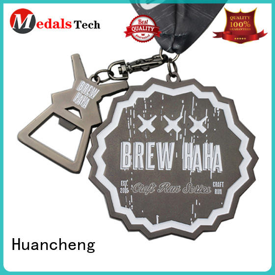 sport matte Huancheng Brand different types of medals factory