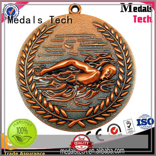 Medals Tech spinning running metals personalized for promotion
