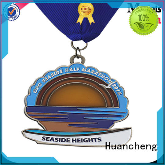 Wholesale gold metal medal Huancheng Brand