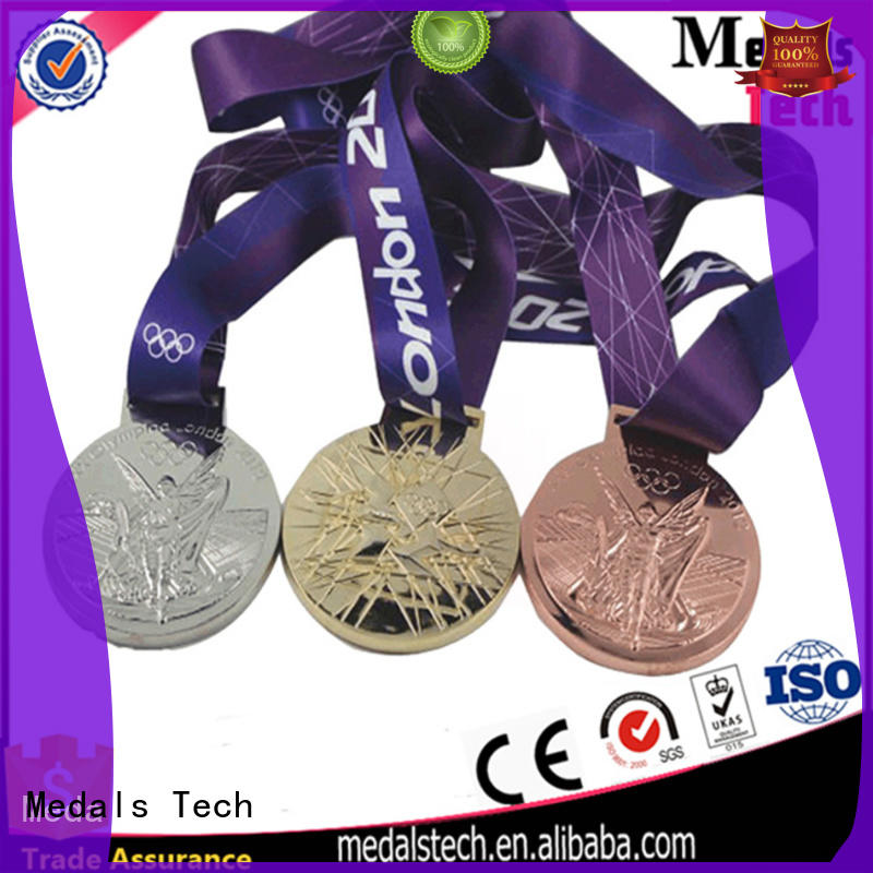 Medals Tech event marathon medal factory price for add on sale