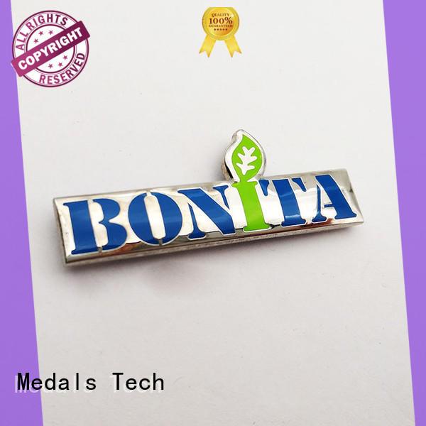 Medals Tech aluminium nameplate design for woman