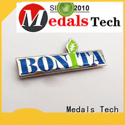 Medals Tech decoration steel name plates factory for man