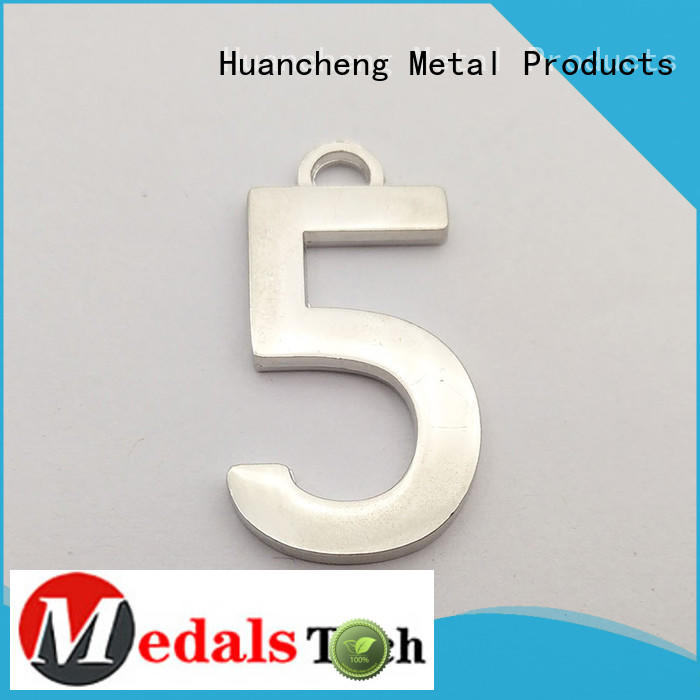 Antique Gold copper custom name plates good quality Huancheng company