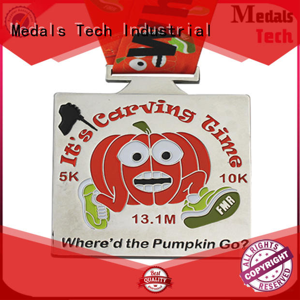 spinning custom race medals dance factory price for add on sale