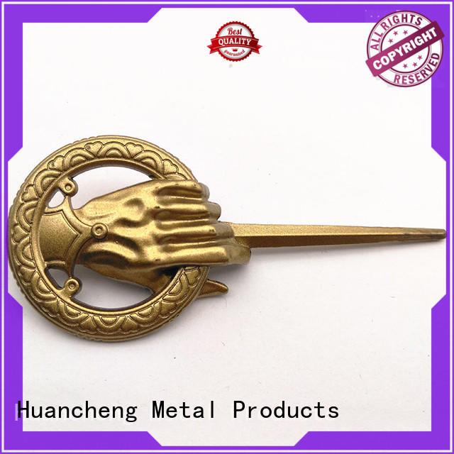 Huancheng Brand good quality copper Silver custom name plates