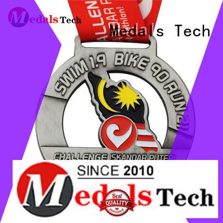 Medals Tech logo custom running medals supplier for man