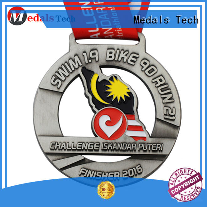 round metal medal medallions supplier for promotion