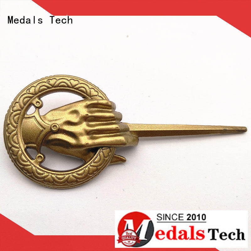 Medals Tech top quality decorative name plate design for man