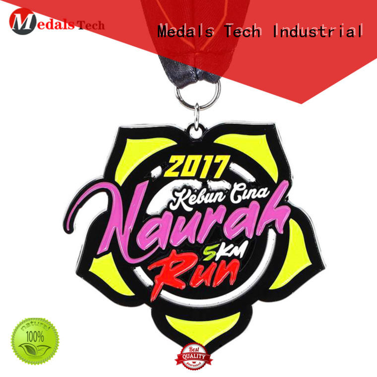 Medals Tech trophies running race medals wholesale for kids