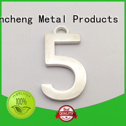 Wholesale printed Silver custom name plates Huancheng Brand
