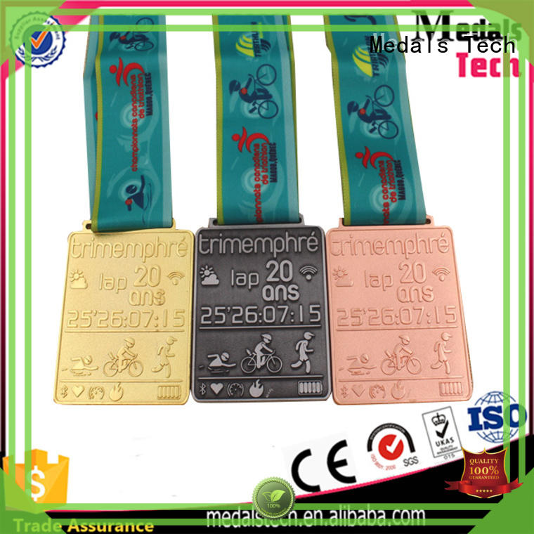 Medals Tech copper running race medals supplier for commercial