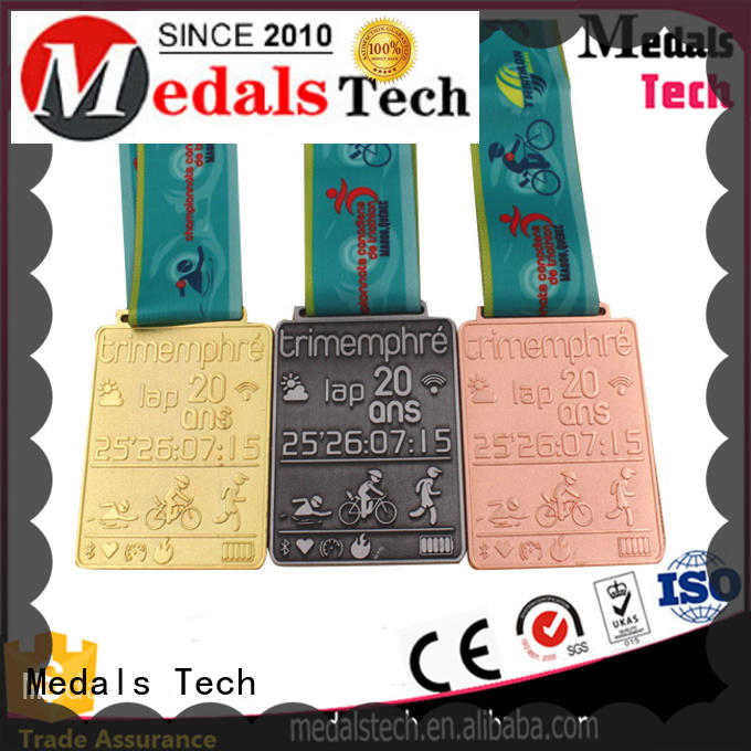 Medals Tech meeting silver medal design for add on sale